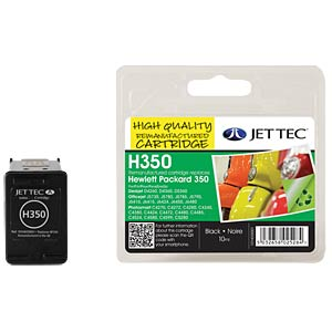 Ink - HP - black - 350 - refill JET TEC H350