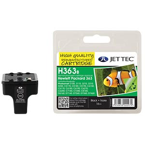 Ink - HP - black - 363 - refill JET TEC H363B