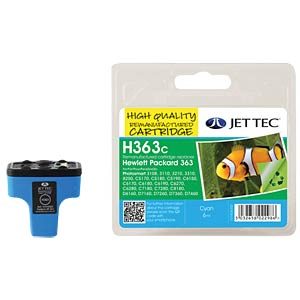 Ink - HP - cyan - 363 - refill JET TEC H363C