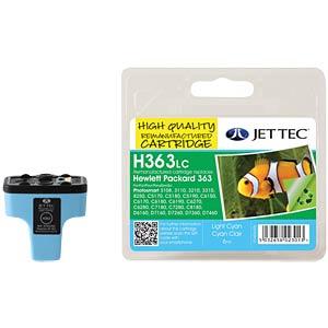 Tinte - HP - hellcyan - 363 - refill JET TEC H363LC