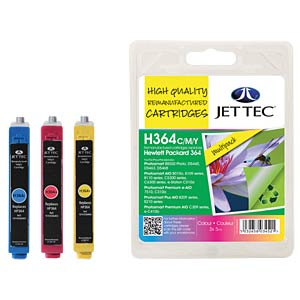 Ink - HP - MP - 364 - refill JET TEC H364CMY