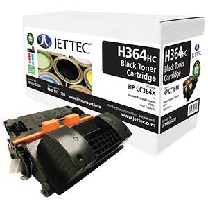 Toner - HP - schwarz - CC364X - rebuilt JET TEC H364HC