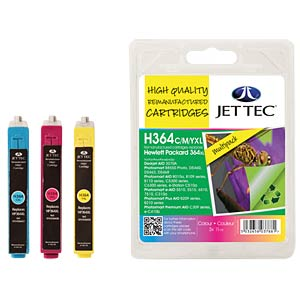 Ink - HP - MP - 364XL - refill JET TEC H364CMYXL