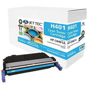 Toner - HP - cyan - CB401A - rebuilt JET TEC H401