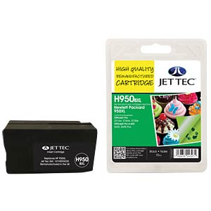 Ink - HP - black - 950XL - refill JET TEC H950BXL