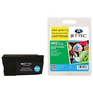 Tinte - HP - cyan - 951XL - refill JET TEC H951CXL