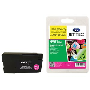 Tinte - HP - magenta - 951XL - refill JET TEC H951MXL