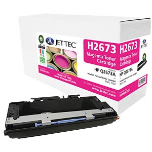 Toner - HP - magenta - Q2673A - rebuilt JET TEC H2673