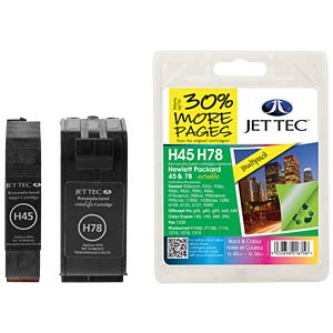 Ink - HP - MP - 45/78 - refill JET TEC H78 H45