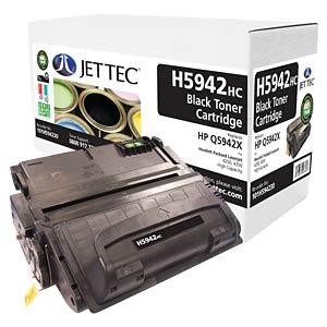 Toner - HP - black - Q5942X - compatible JET TEC H5942HC