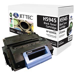 Toner - HP - schwarz - Q5945A - rebuilt JET TEC H5945