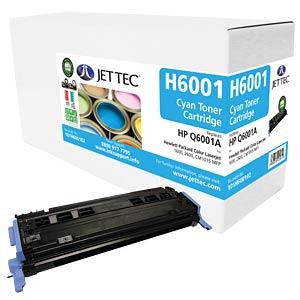 Toner - HP - cyan - Q6001A - rebuilt JET TEC H6001