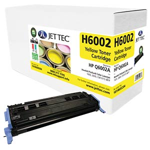 Toner - HP - yellow - Q6002A - compatible JET TEC H6002