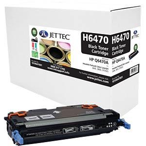 Toner - HP - schwarz - Q6470A - rebuilt JET TEC H6470