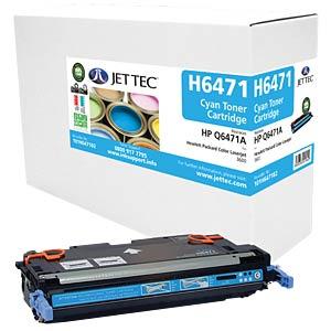 Toner - HP - cyan - Q6471A - rebuilt JET TEC H6471