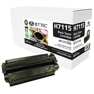Toner - HP - black - C7115A - compatible JET TEC H7115