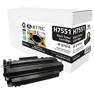 Toner - HP - black - Q7551A - compatible JET TEC H7551