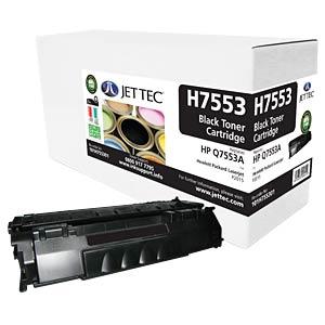 Toner - HP - schwarz - Q7553A - rebuilt JET TEC H7553