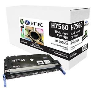 Toner - HP - schwarz - Q7560A - rebuilt JET TEC H7560