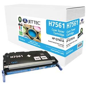 Toner - HP - cyan - Q7561A - rebuilt JET TEC H7561