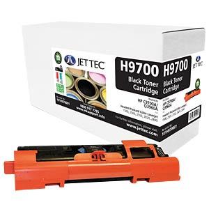 Toner - HP - schwarz - C9700A - rebuilt JET TEC H9700