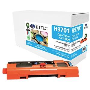 Toner - HP - cyan - C9701A - rebuilt JET TEC H9701