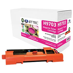 Toner - HP - magenta - C9703A - compatible JET TEC H9703