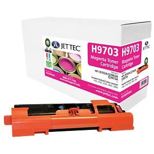 Toner - HP - magenta - C9703A - rebuilt JET TEC H9703