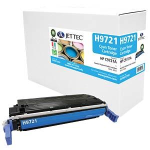 Toner - HP - cyan - C9721A - rebuilt JET TEC H9721