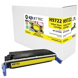 Toner - HP - yellow - C9722A - compatible JET TEC H9722