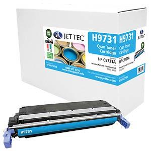 Toner - HP - cyan - C9731A - rebuilt JET TEC H9731