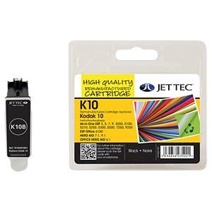 Ink - Kodak - black - 10 - refill JET TEC K10B