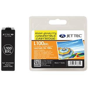 Tinte - Lexmark - schwarz - 100XL - refill JET TEC L100XLB