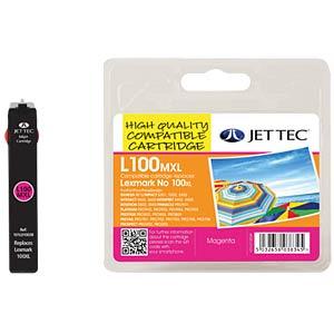 Tinte - Lexmark - magenta - 100XL - refill JET TEC L100XLM