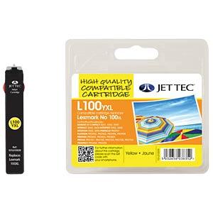 Tinte - Lexmark - gelb - 100XL - refill JET TEC L100XLY
