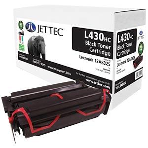 Toner - Lexmark - schwarz - 12A8325 - rebuilt JET TEC L430HC
