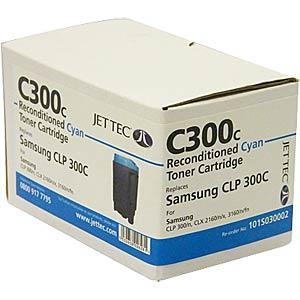 Toner - Samsung - cyan - C300 - rebuilt JET TEC 101SO30002