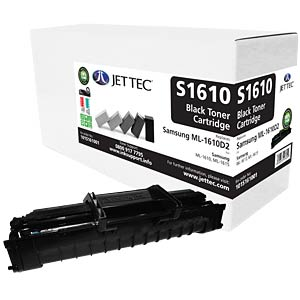 Toner - Samsung - schwarz - 1610D2 - rebuilt JET TEC S1610
