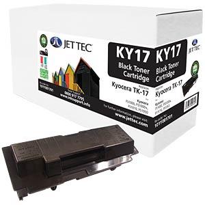 Toner - Kyocera - black - TK-17 - compatible JET TEC KY17