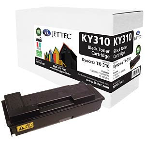 Toner - Kyocera - black - TK-310 - compatible JET TEC KY310
