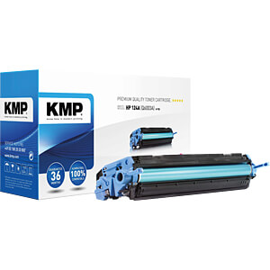 Toner for HP Color LaserJet 1600/2600, magenta KMP PRINTTECHNIK AG 1203,0006