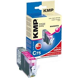 Tinte - Canon - magenta - CLI-521 - refill KMP PRINTTECHNIK AG 1510,0006