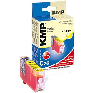 Tinte - Canon - gelb - CLI-521 - refill KMP PRINTTECHNIK AG 1510,0009