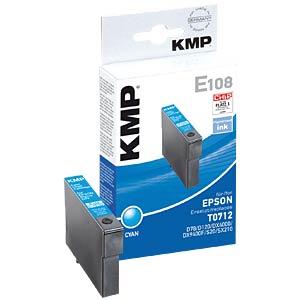 Tinte - Epson - cyan - T0712 - refill KMP PRINTTECHNIK AG 1607,4003