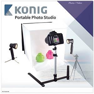 Fotografie, Mini-Fotostudio, 40 X 40 cm KÖNIG KN-STUDIO10N