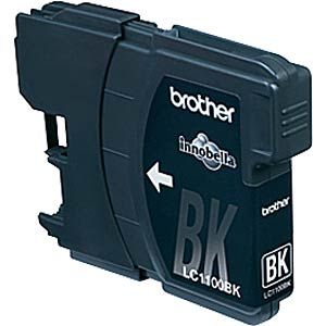 Tinte - Brother - schwarz - LC1100 - original BROTHER LC1100BK