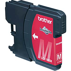 Magenta: Brother MFC-6490CW, MFC-5490CN BROTHER LC1100M
