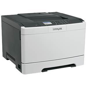 Farblaserdrucker / 4 Jahre Garantie LEXMARK CS410DN / 28D0207