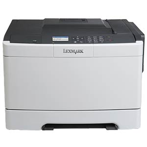 Farblaserdrucker, USB, LAN LEXMARK CS410N / 28D0020