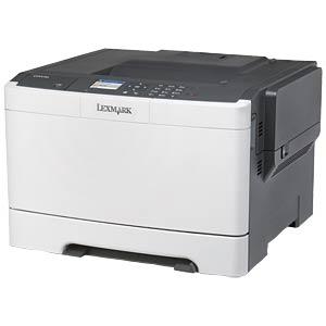 Colour laser printer, USB, LAN LEXMARK CS410N / 28D0020